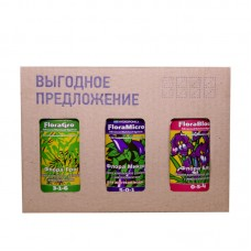 FloraSet HW 0,5 L (набор удобрений Flora Series для жесткой воды)