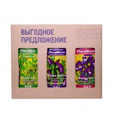 FloraSet HW 1 L (набор удобрений Flora Series для жесткой воды)