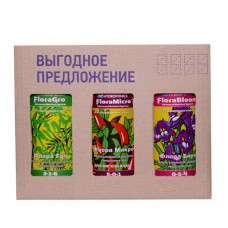 FloraSet SW 1 L (набор удобрений Flora Series для мягкой воды)